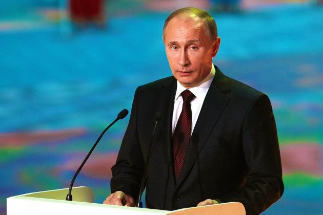 Vladimir Putin Bans All Protests in Sochi During 2014 Winter Olympics