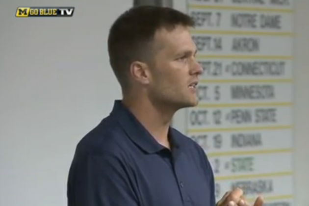 Fox Sports 1 Spoofs Tom Brady's Michigan Speech