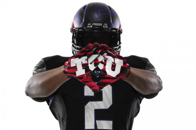TCU Football's New Uniforms Cover Every Detail to Perfection