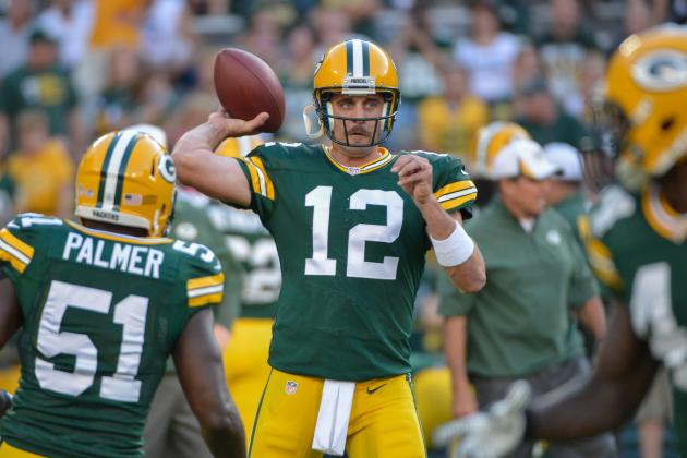Rodgers Finishes 4-7 for 41 Yards vs. SEA