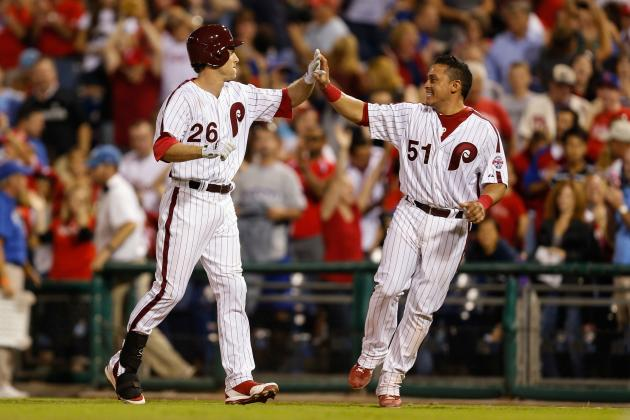 Phillies down D'backs in third straight walk-off win