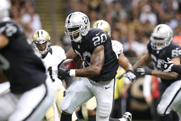 Raiders Holds out Darren McFadden with Shoulder Injury