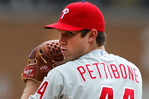 Phillies Shut Down Jonathan Pettibone for Another Three to Sixweeks