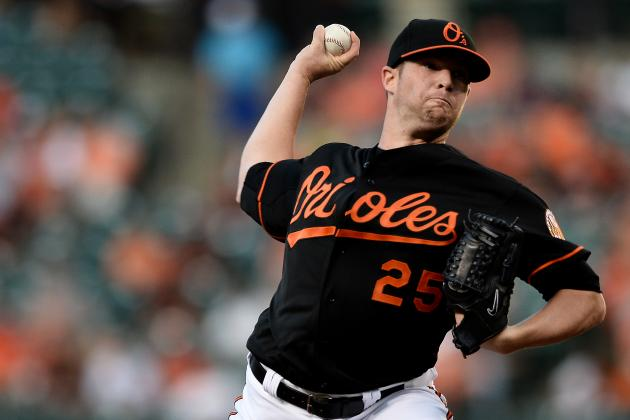 Bud Norris Suffers His Roughest Oriole Outing