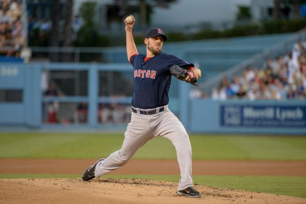 Nolasco, Dodgers Spoil Solid John Lackey Outing, Shutout Red Sox