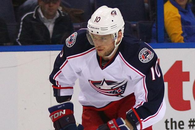 Columbus Blue Jackets Need Marian Gaborik's Scoring Touch to Return