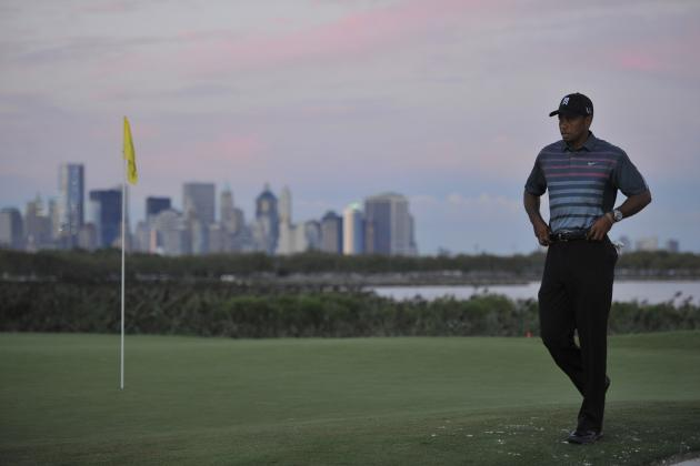 Does Liberty National Actually Suit Tiger Woods' Game?
