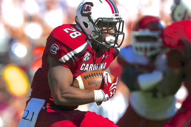 Mike Davis Doesn't Have to Be Marcus Lattimore for South Carolina to Contend