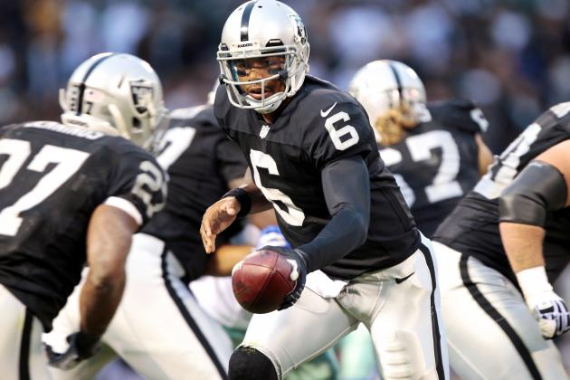 Terrelle Pryor Makes a Run at the Oakland Raiders' Starting Quarterback Job