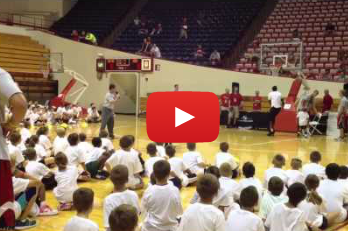 Watch: Victor Oladipo and D.J. White Mercilessly Defend Grade School Kids