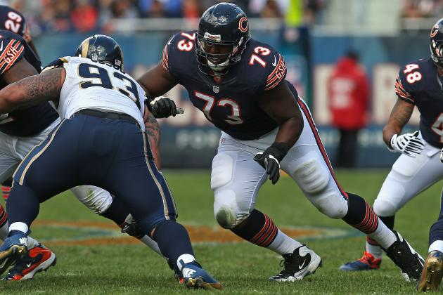 Chicago Bears Should Trade Tackle J'Marcus Webb