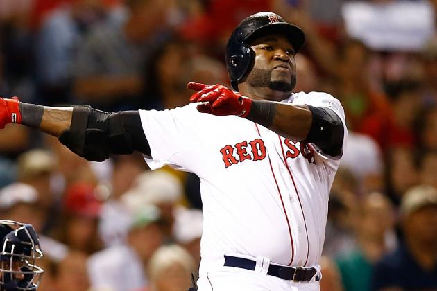 David Ortiz Sitting Today vs. Dodgers; Mike Napoli Replaces at 1B