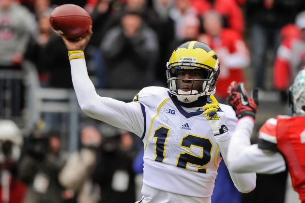Michigan's Devin Gardner Edged Johnny Manziel in ESPN's QBR Metric Last Season