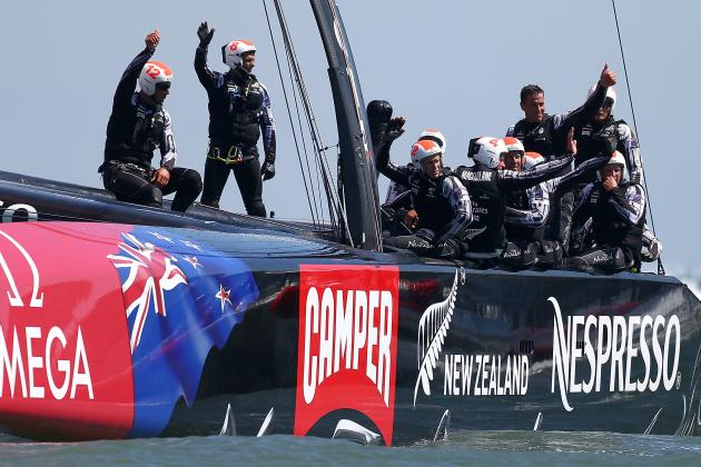 Kiwis Now 2 Wins Away from America's Cup