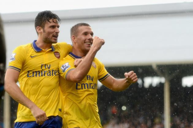 Lukas Podolski's Fulham Frolics Prove His Arsenal Worth