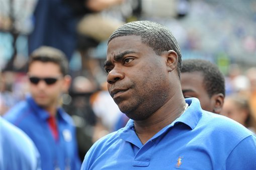 Tracy Morgan Makes Cameo at Ravens Camp