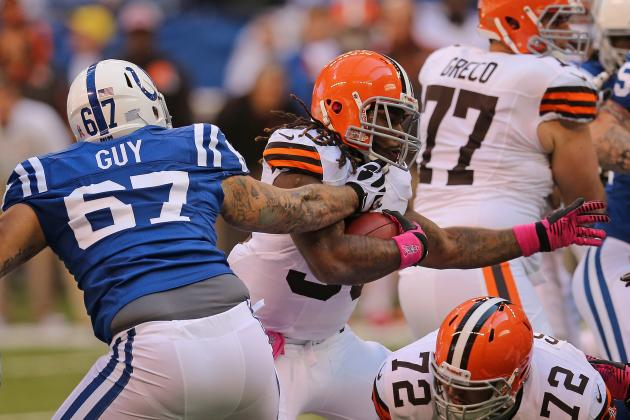 Browns vs. Colts: TV Info, Spread, Injury Updates, Game Time and More
