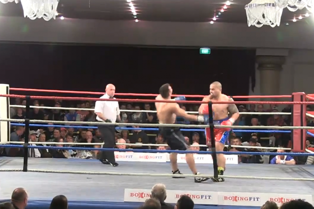 Australian Boxer Knocks out His Opponent with 2 Vicious Punches