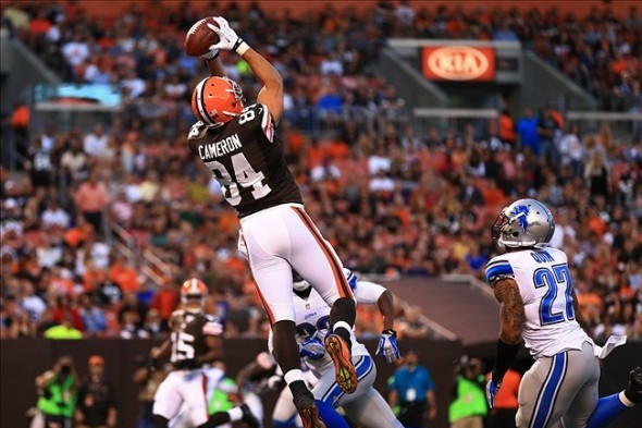 NFL 2013 Fantasy Football Sleeping 7: Jordan Cameron Will Seek and Destroy