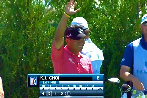K.J. Choi and Greg Chalmers Both Record Holes-in-1 on the Same Hole