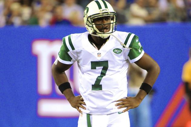 Geno Smith Throws 3 Interceptions in Lackluster Preseason Start vs. Giants