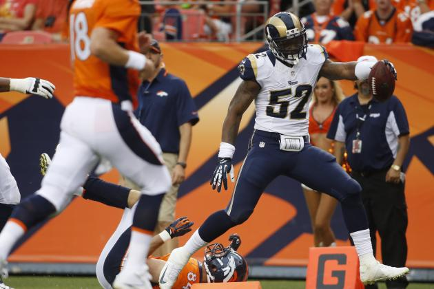 Denver Broncos vs. St. Louis Rams: Live Score, Highlights and Analysis