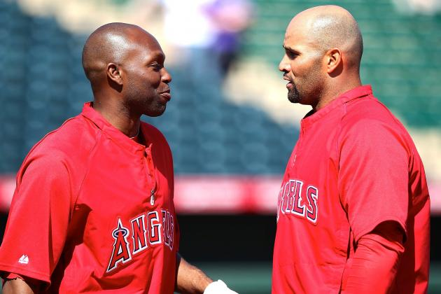Albert Pujols-Torii Hunter 2012 Dustup Underscores Angels' Issues