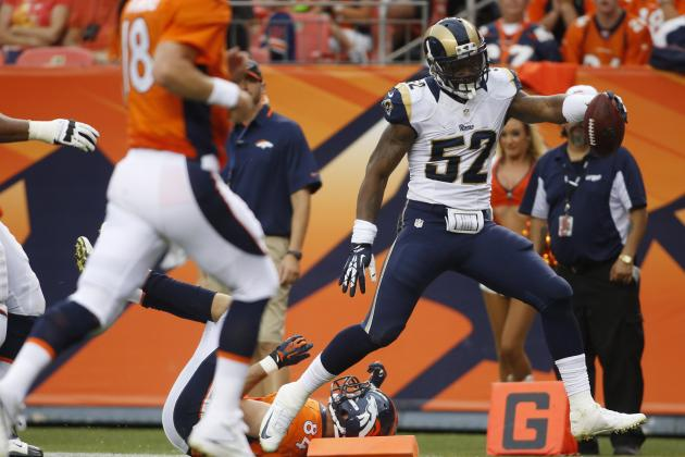 St. Louis Rams: Alec Ogletree Dominates Denver Broncos in NFL Preseason