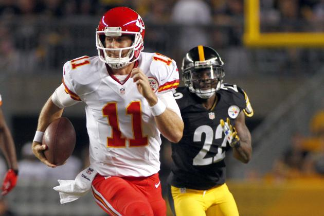 Late First-Half Drive Finally Brings Some Hope to Chiefs' Offense