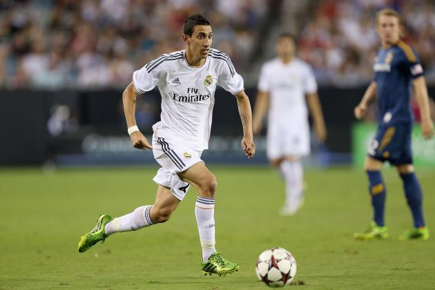 Arsenal Transfer Rumours: Scouting Angel Di Maria Ahead of Potential Move