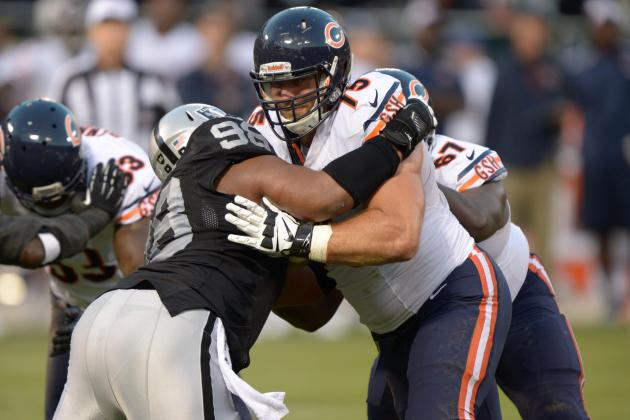 Why Chicago Bears' Kyle Long Has Been Most Impressive Rookie in NFL Preseason