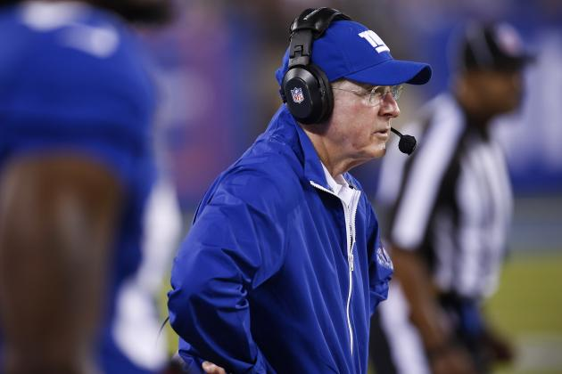 Tom Coughlin Puzzled with Inconsistency from Giants' Offense
