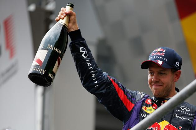 Belgian Grand Prix 2013: Sebastian Vettel Sends Message of F1 Superiority in Spa