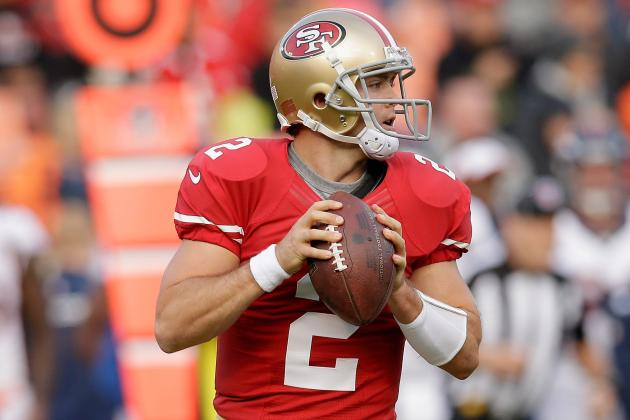 Colt McCoy Named 49ers' Backup QB After Trade Rumors