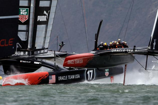 Emirates Team NZ Wins Louis Vuitton Cup