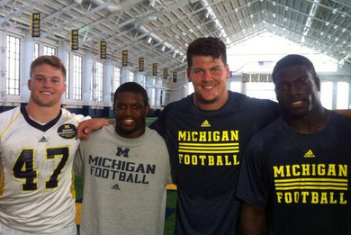 U-M Announces 4 Team Captains for 2013-14