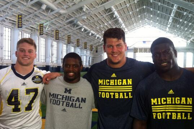 Michigan Elects Four Captains for 2013