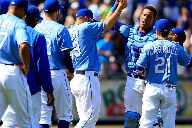 Royals Snap 7-Game Skid with Win vs. Nats