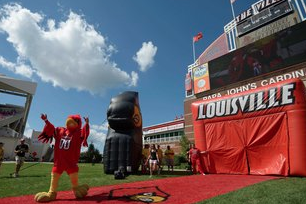 At Louisville, an Athletic Boom Made for (and By) TV