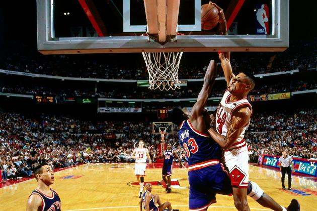 We Remember Scottie Pippen Posterization of Patrick Ewing in 1994