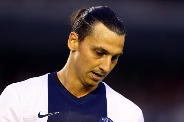 Ligue 1: Radamel Falcao, Zlatan Ibrahimovic and Edinson Cavani Watch