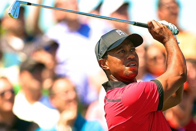Tiger Woods Proves He's Still Master of Drama with Near-Miss at 2013 Barclays
