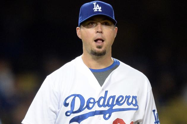 Dodgers' Josh Beckett to Start Throwing Program Wednesday