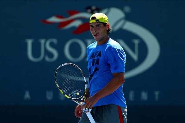 Rafael Nadal Remains Favorite Despite Tough Road to Second U.S. Open Title