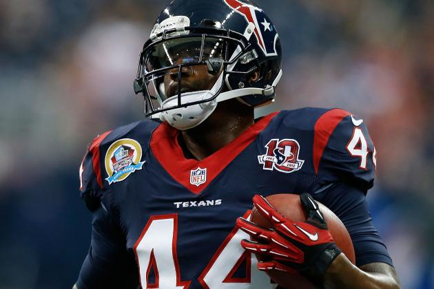 Ben Tate Shows He Can Carry the Load for Texans