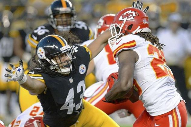 On the Steelers: Encouraging Signs for Troy Polamalu