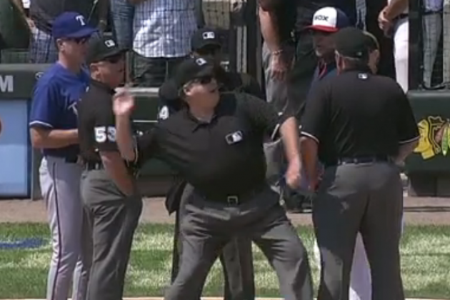Chicago White Sox Bench Coach Mark Parent Ejected Before Game Even Starts