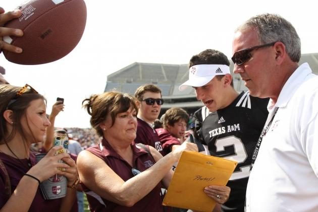 At a Fan Event, Manziel High-Fived a Crying Girl Who Said She Loved Him