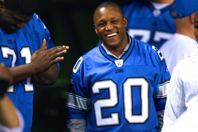 Detroit Lions Legend Barry Sanders Talks Madden Cover and Why He Left the Game