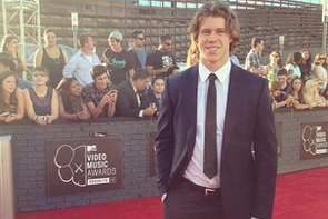 Matt Martin at the MTV Video Music Awards